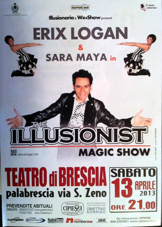 magic show a Brescia
