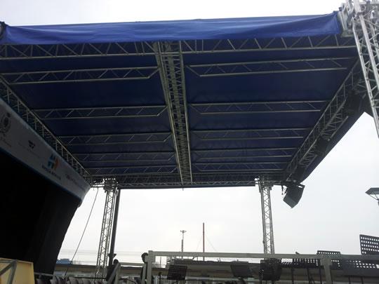 palco per concerti a Brescia