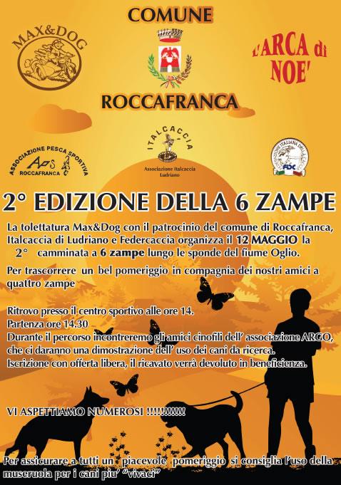 2 Edizione della 6 Zampe a Roccafranca