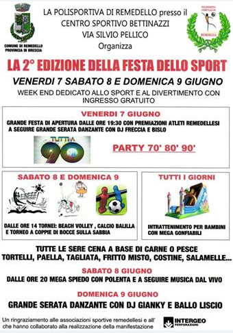 2 Festa dello Sport a Remedello