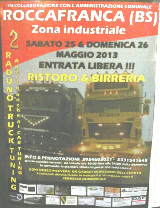 2 Raduno Truck Tuning Roccafranca 2013