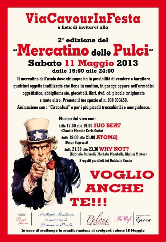 2 mercatino delle pulci a Isorella 2013