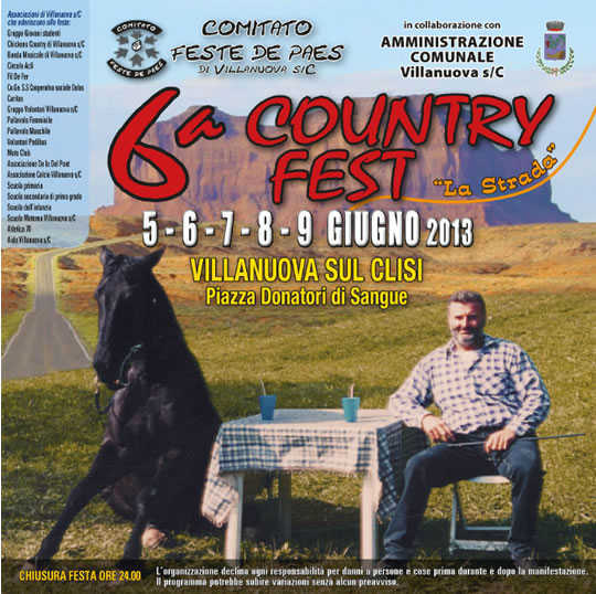6 Country Fest a Villanuova