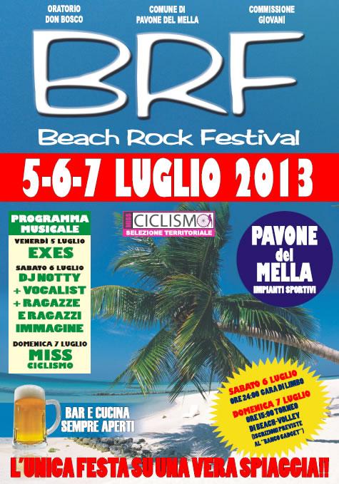 Beach Rock Festival a Pavone del Mella