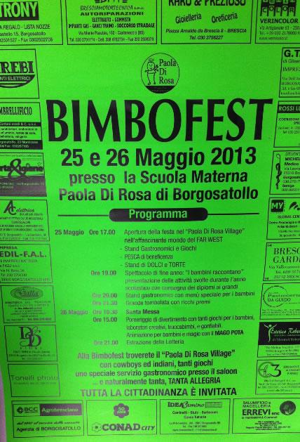 Bimbofest a Borgosatollo