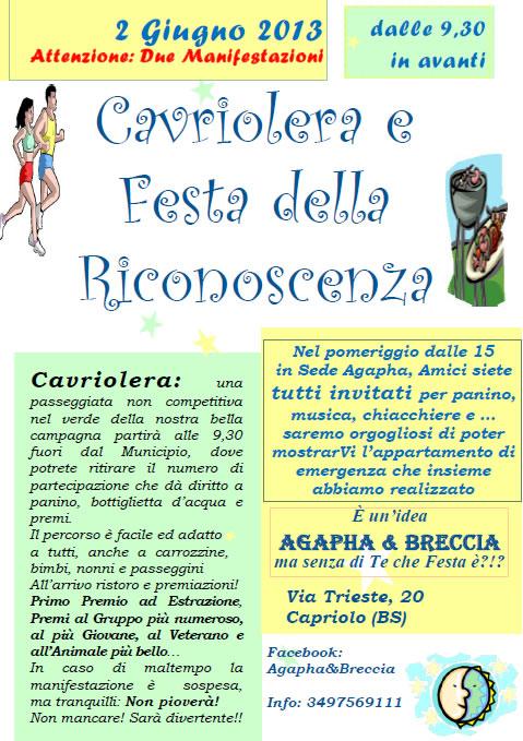 Cavriolera e Festa della Riconoscenza a Capriolo