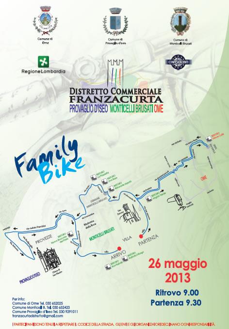 Family Bike a Provaglio d'Iseo
