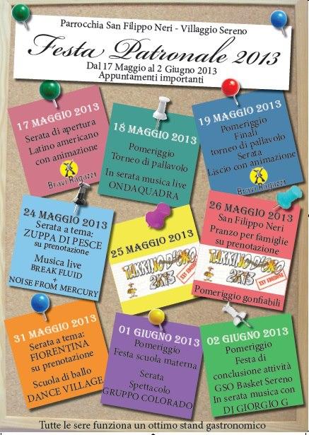 Festa Patronale 2013 Villaggio Sereno