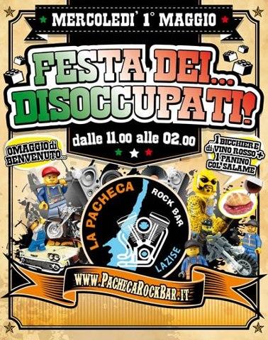 Festa dei disoccupati - Bar Pacheca Lazise
