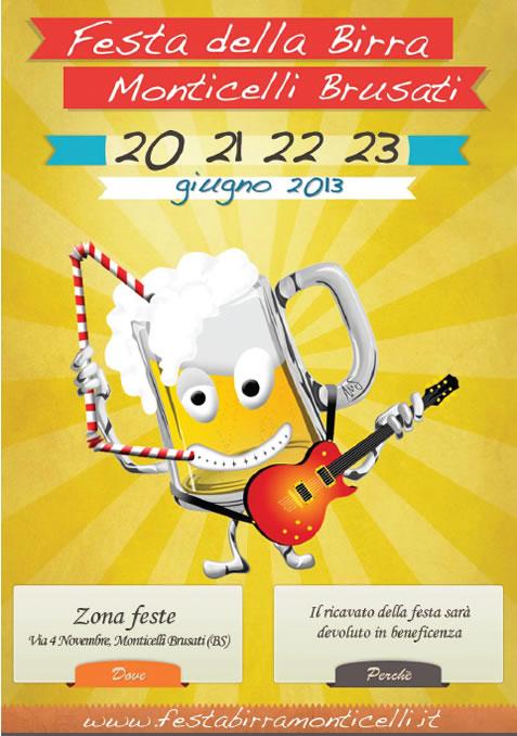 Festa della Birra a Monticelli Brusati