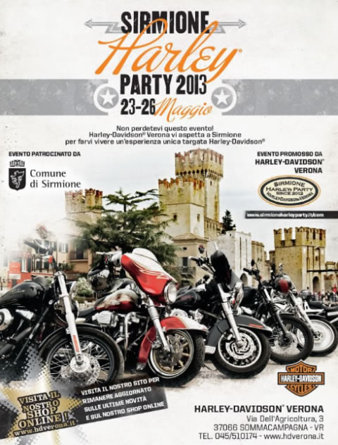 Harley Party a Sirmione