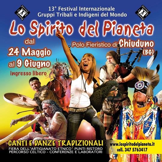 Lo spirito del pianeta 2013 Chiuduno (BG)