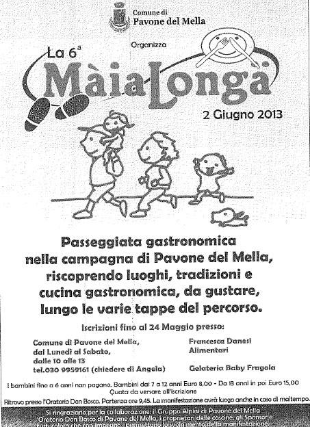 MaiaLonga a Pavone del Mella