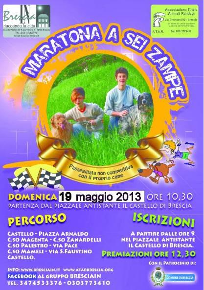 Maratona a 6 Zampe a Brescia