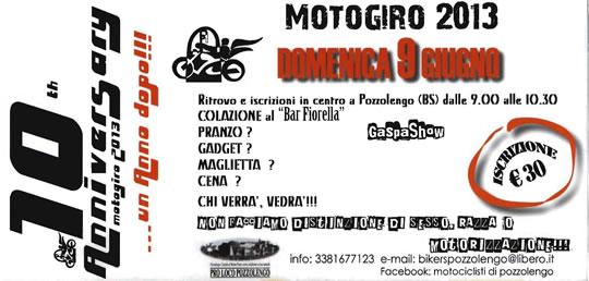 Motogiro a Pozzolengo 2013