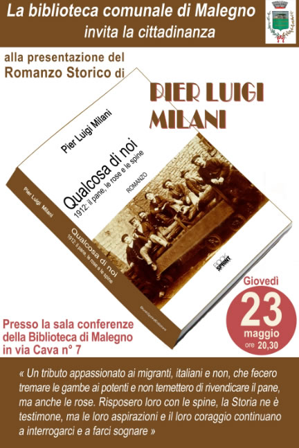 Pier Luigi Milani a Malegno