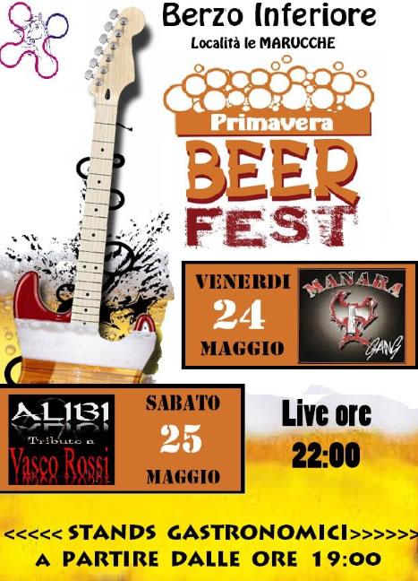 Primavera Beer Fest a Berzo Inferiore