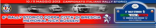 Rally Storico a Brescia