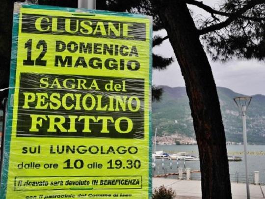 Sagra del Pesciolino Fritto 2013 a Clusane