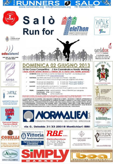 Salo Run For Telethon