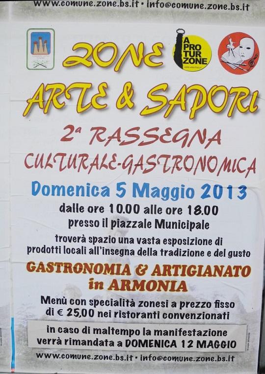 Zone Arte e sapori 2013