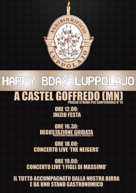1 compleanno Agribirrificio Luppolajo 2013 Castel Goffredo b