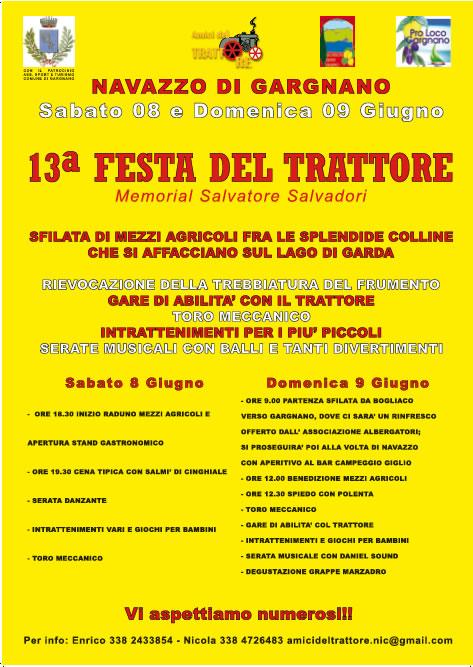 13 Festa del Trattore a Gargnano