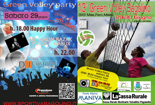 13 Green Volley a Bagolino