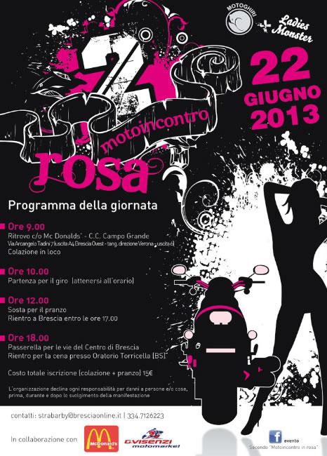 2 Motoincontro Rosa a Brescia