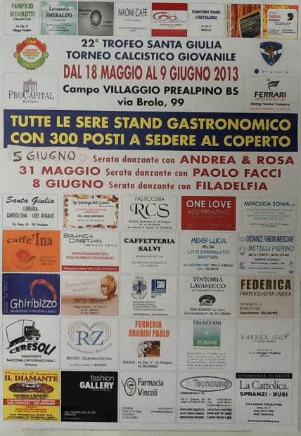 22 Trofeo Santa Giulia al Villaggio Prealpino