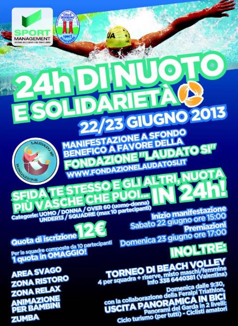 24 h di Nuoto e Solidarietà a Desenzano