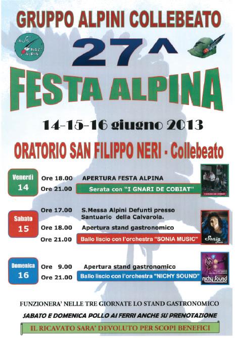 27 Festa Alpina a Collebeato