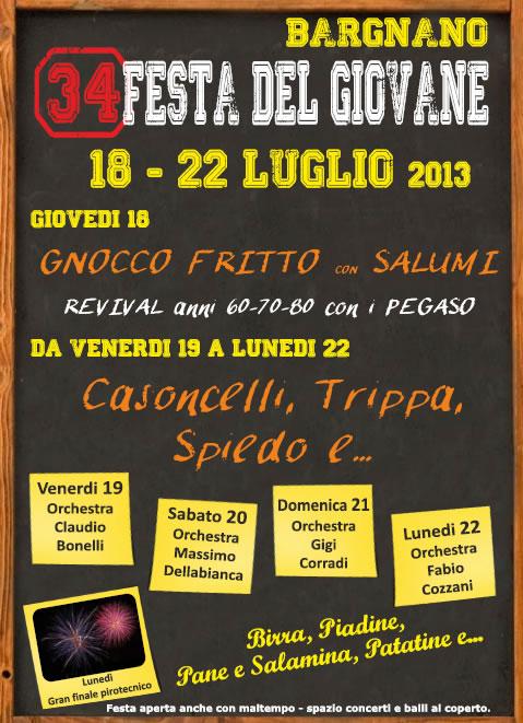 34 Festa del Giovane a Bargnano