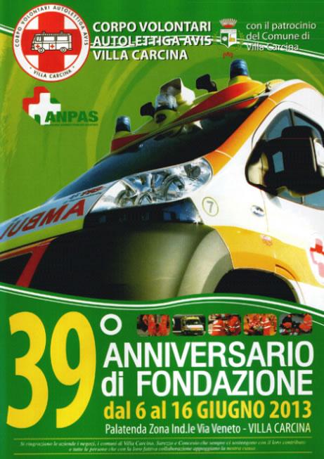 39 Anniversario di Fondazione a Villa Carcina
