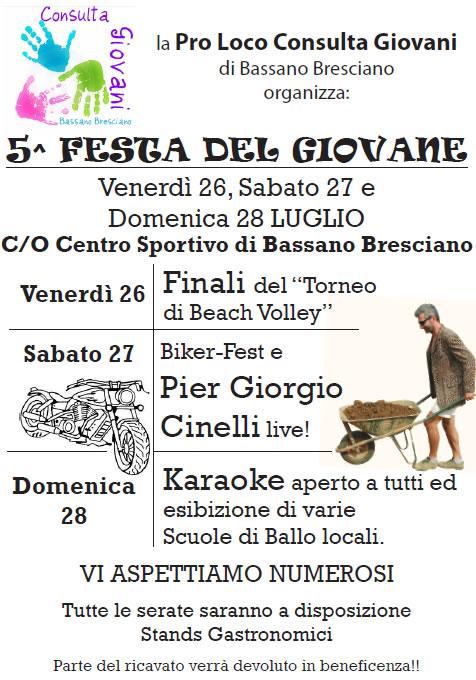 5 Festa del Giovane a Bassano Bresciano