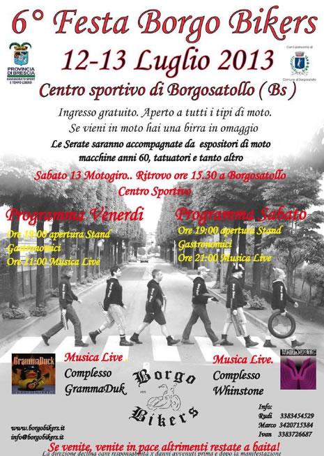 6 Festa Borgo Bikers a Borgosatollo