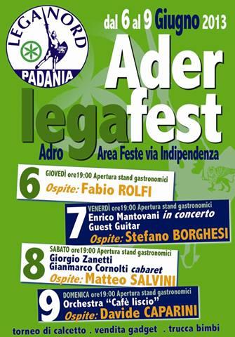 Ader Lega Fest 2013 Adro
