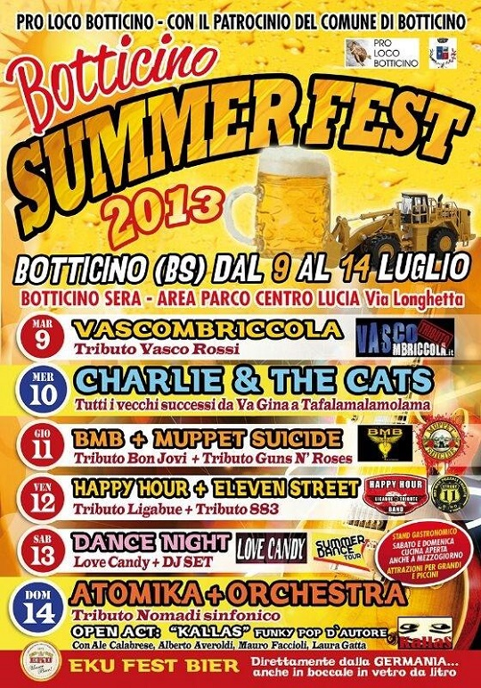 Botticino Summer Fest 2013