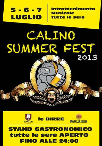 Calino Summer Fest 2013