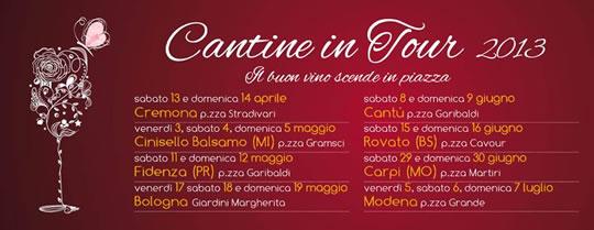 Cantine in Tour a Rovato