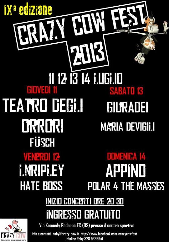 Crazy Cow Fest 2013 Paderno Franciacorta