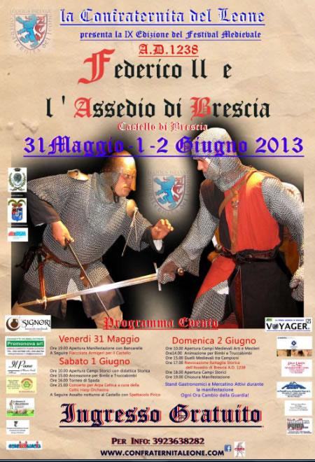 Federico II e l' Assedio di Brescia