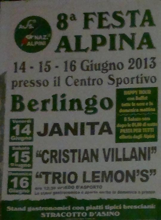 Festa Alpina Berlingo 2013