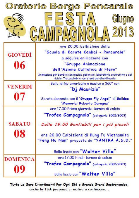 Festa Campagnola a Borgo Poncarale