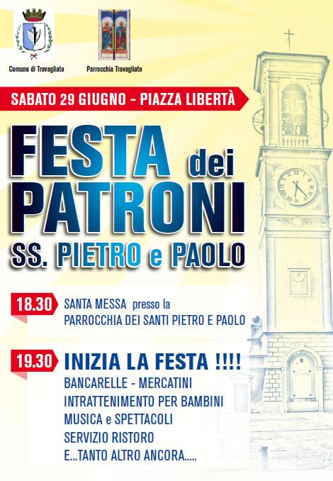 Festa dei Patroni SS. Pietro e Paolo a Travagliato