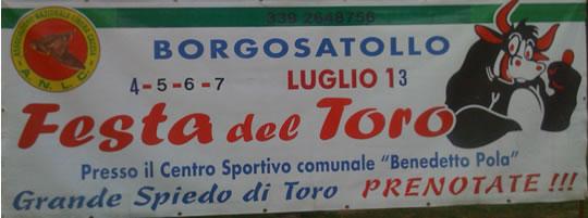Festa del Toro a Borgosatollo