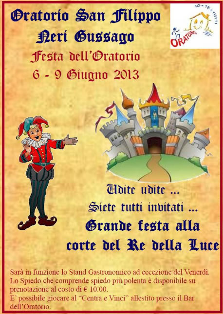Festa dell' Oratorio di Gussago