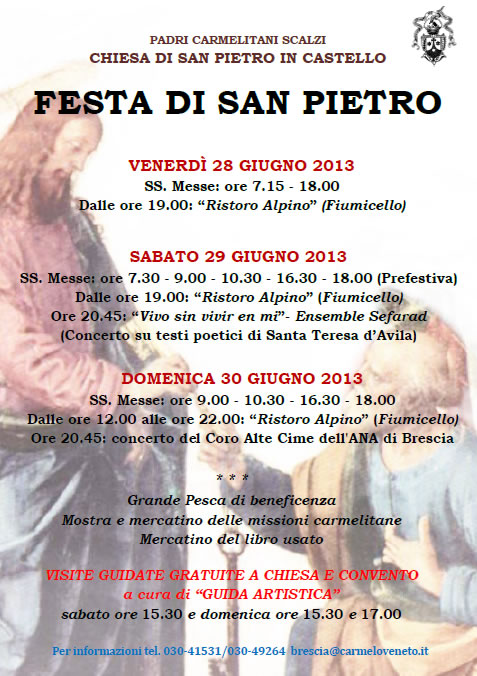 Festa di San Pietro a Brescia