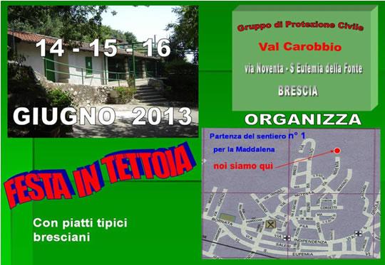 Festa in Tettoia a Brescia