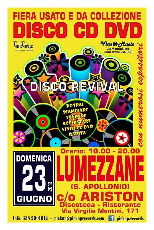 Fiera disco cd dvd usati e da collezione Lumezzane